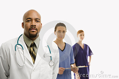 Medical healthcare workers