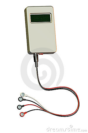Medical Holter Monitor Device Royalty Free Stock Photography - Image: 16682877