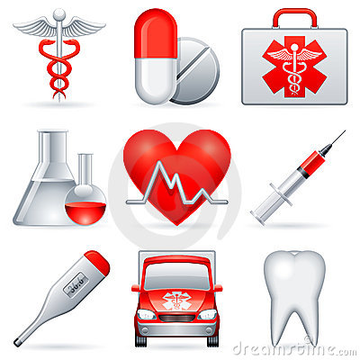 Free Medical Icons. Stock Image - 15989571