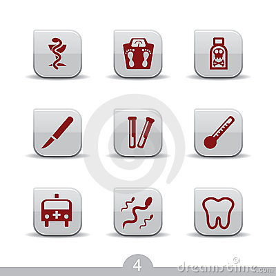 Medical icons 4..smooth series