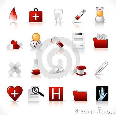 Medical icons / set 1