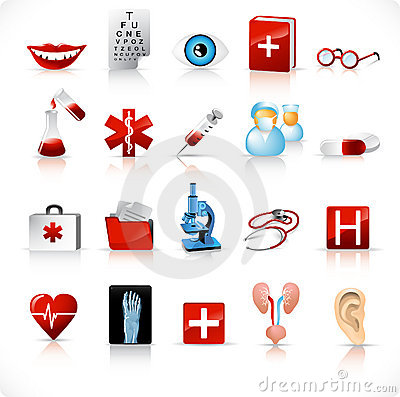 Medical icons / set 2