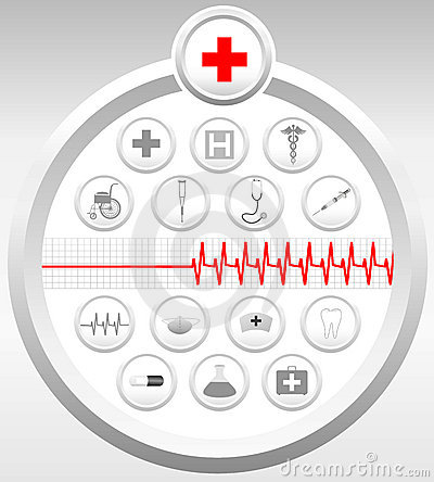 Medical Icons Set Stock Images - Image: 853404