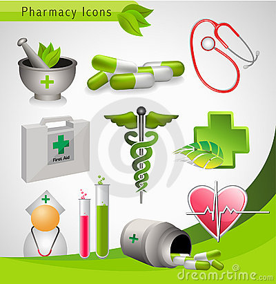 Medical icons - vector