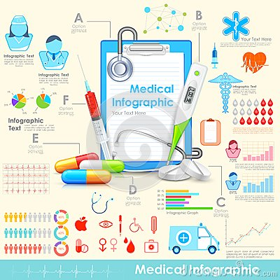 Free Medical Infographic Stock Photos - 31897903