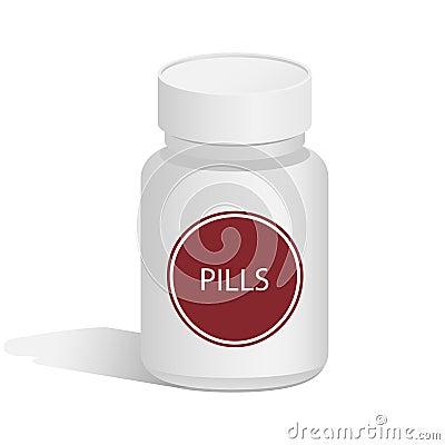 Medical jar for pills