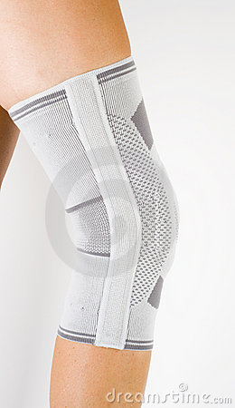 Free Medical Knee Support Royalty Free Stock Photos - 15244778
