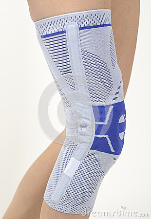 Free Medical Knee Support Royalty Free Stock Photo - 34373905