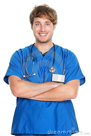Free Medical Male Nurse / Doctor Royalty Free Stock Images - 22660279