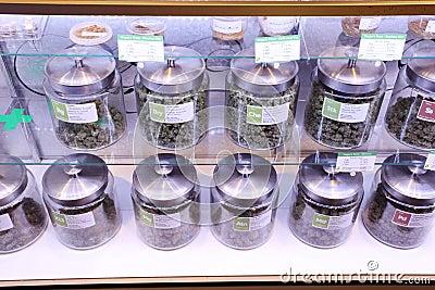 Medical marijuana Editorial Stock Image