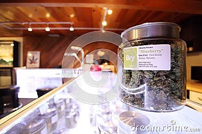 Medical marijuana Editorial Photo