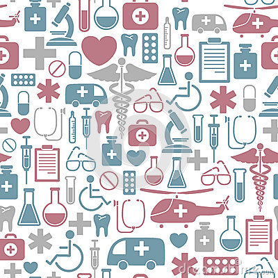 Free Medical Pattern Stock Photos - 26592623