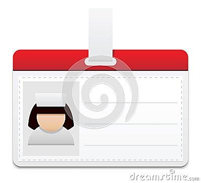 Medical personal badge