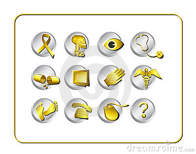 Medical & Pharmacy Icon Set