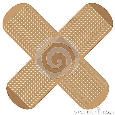 Free Medical Plaster Vector Illustration Stock Images - 109738124