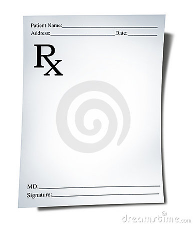 Free Medical Prescription Stock Image - 19722261