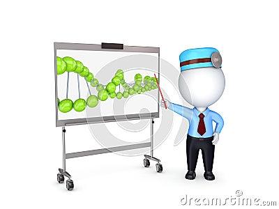 Medical presentation concept.