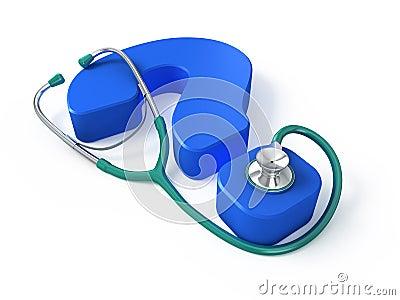 Medical question concept