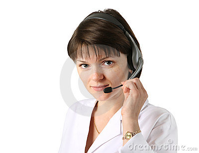 Medical receptionist headset