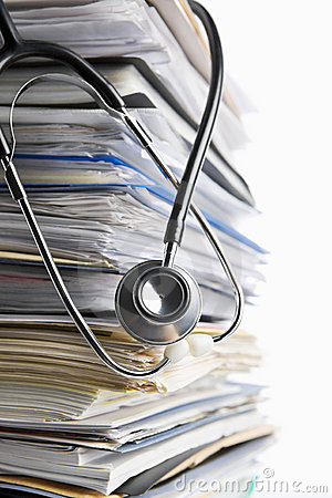 Free Medical Record Royalty Free Stock Photography - 14020527