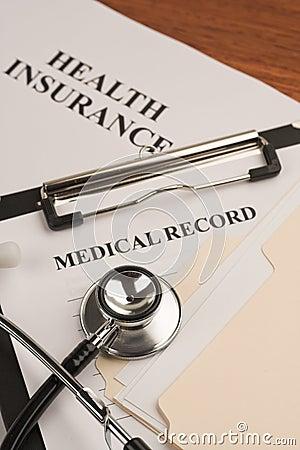 Medical record & health insurance