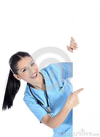 Medical sign nurse