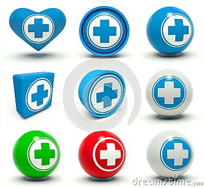 Medical signs.