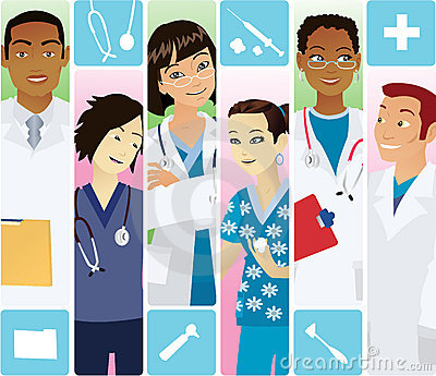 Medical Team Stock Image Image 10850881
