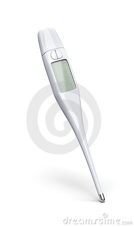 Medical thermometer 3d model