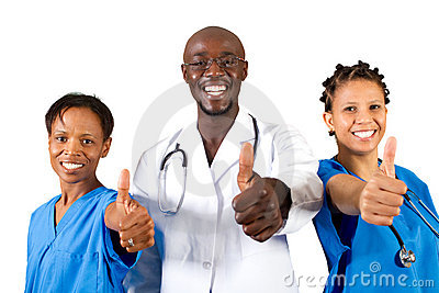 Medical thumbs up