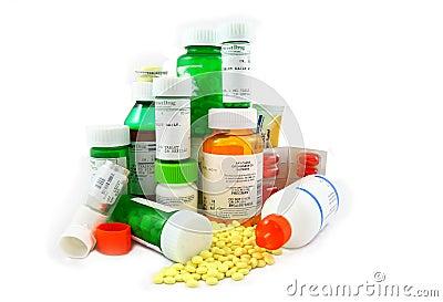Medicamentações da prescrição e do Non-Prescription