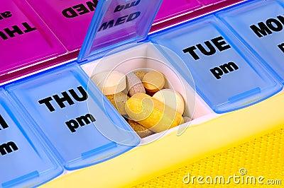 Medicamentação diária