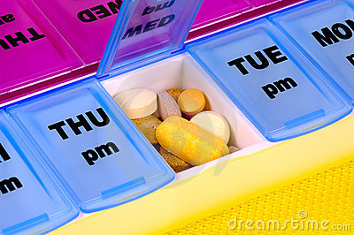 Daily Medication Stock Photos - Image: 226243