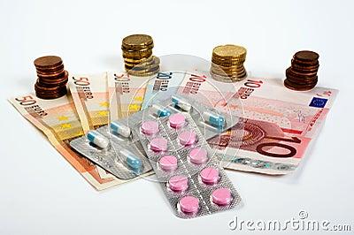 Medicinas e dinheiro