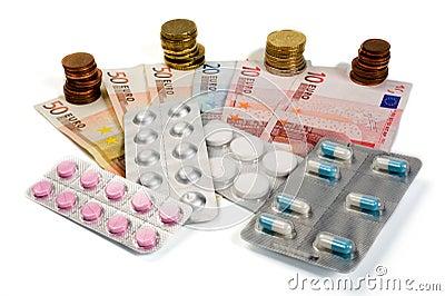 Medicinas y dinero