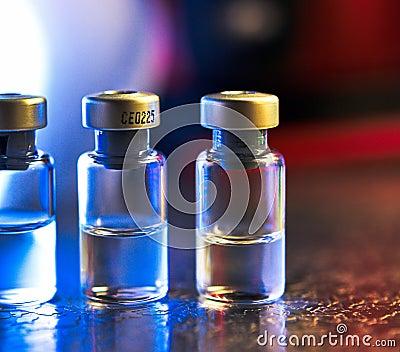 Medicine bottles