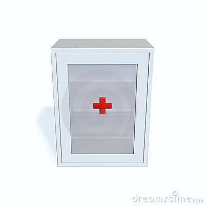 Free Medicine Cabinet Stock Photography - 14263482