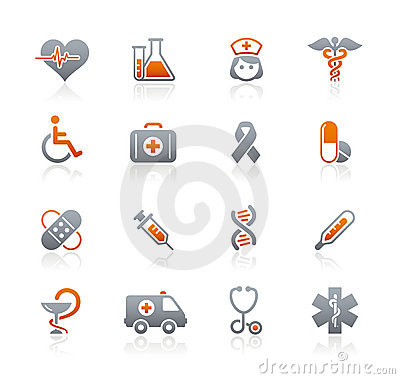 Medicine & Heath care // Graphite Icons Series
