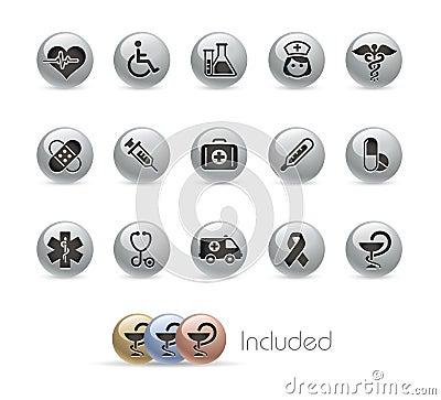 Medicine & Heath care// Metal Button Series