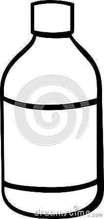 medicine jar vector illustration