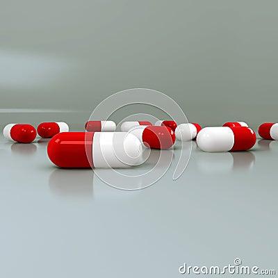 Medicines as capsules