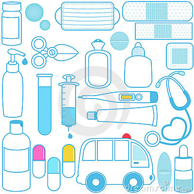 Medicines, Pills, Medical Equipments