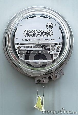 Medidor elétrico