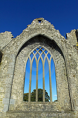Medieval Arched window Co. Limerick Ireland