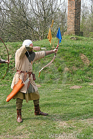 A medieval archer