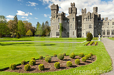 Medieval Ashford Castle Royalty Free Stock Images - Image: 19275309