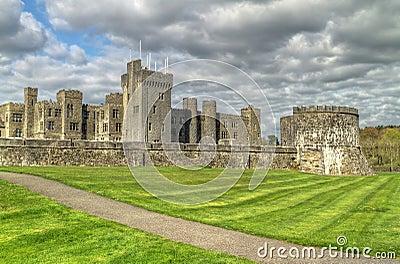 Medieval Ashford castle