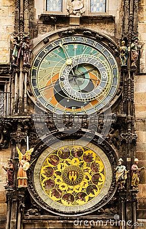 Medieval Astronomical Clock in Prague