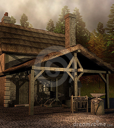 Me Val Blacksmith House Stock Images Image 23125884
