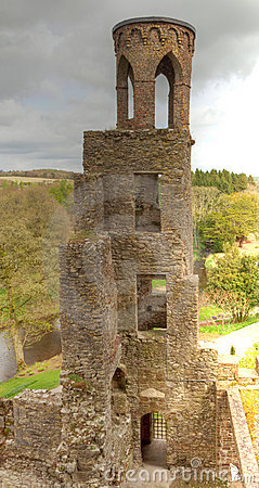 Medieval Blarney tower in Ireland